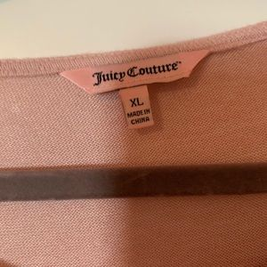 Juicy couture pink sweater